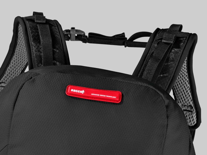 Backpack with RECCO® reflector